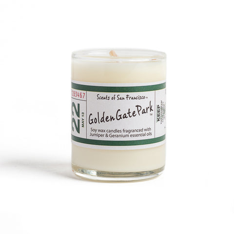 Scents of San Francisco, Golden Gate Park Small Candle