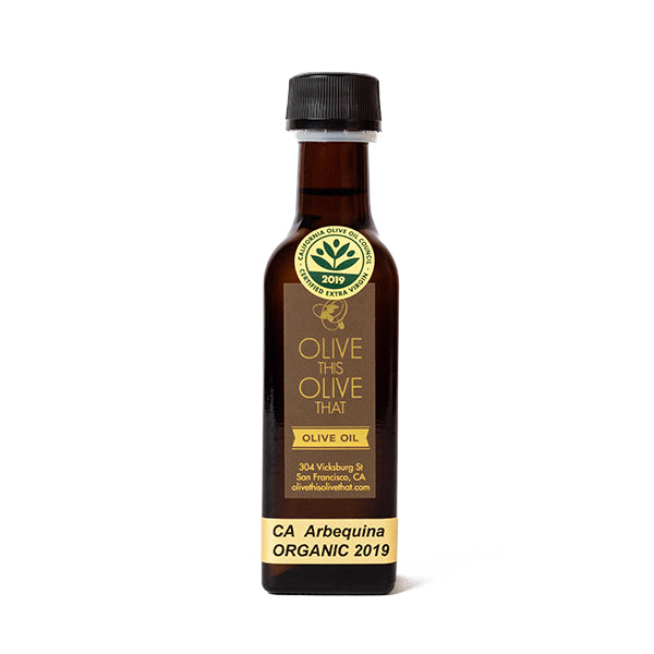 Olive This Olive That, Mini California Organic Mission Olive Oil 3oz
