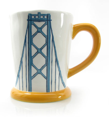 SF Mercantile, Bay Bridge Mug