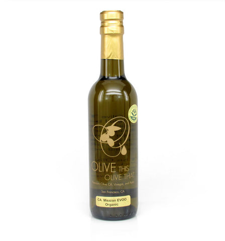 Olive This Olive That, California Organic Mission Olive Oil