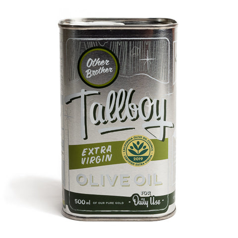 "Other Brother, ""Tallboy"" Extra Virgin Olive Oil"