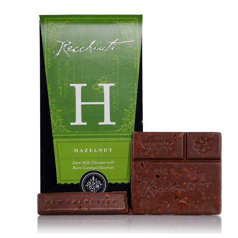 Recchiuti, Hazelnut Dark Milk Chocolate Bar