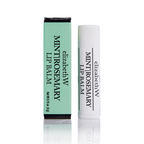 Elizabeth W, Mint Rosemary Lip Balm