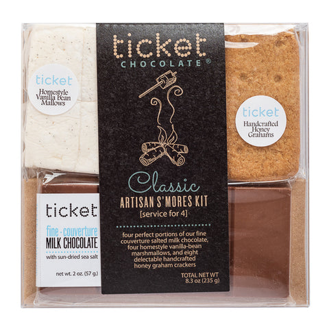 Ticket Chocolate, Classic Artisan S'mores Kit