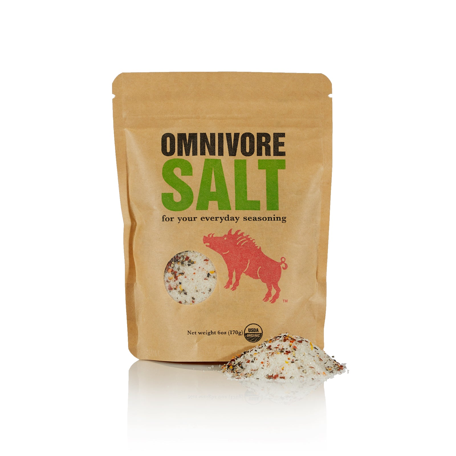Omnivore Salt by Angelo Garro