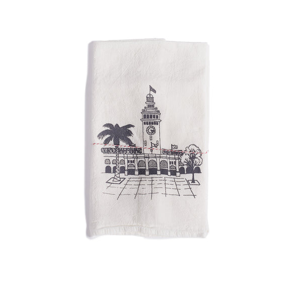 The Heated, Ferry Building Dish Towel