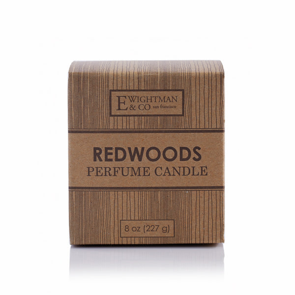 Elizabeth W, Large Redwoods Candle