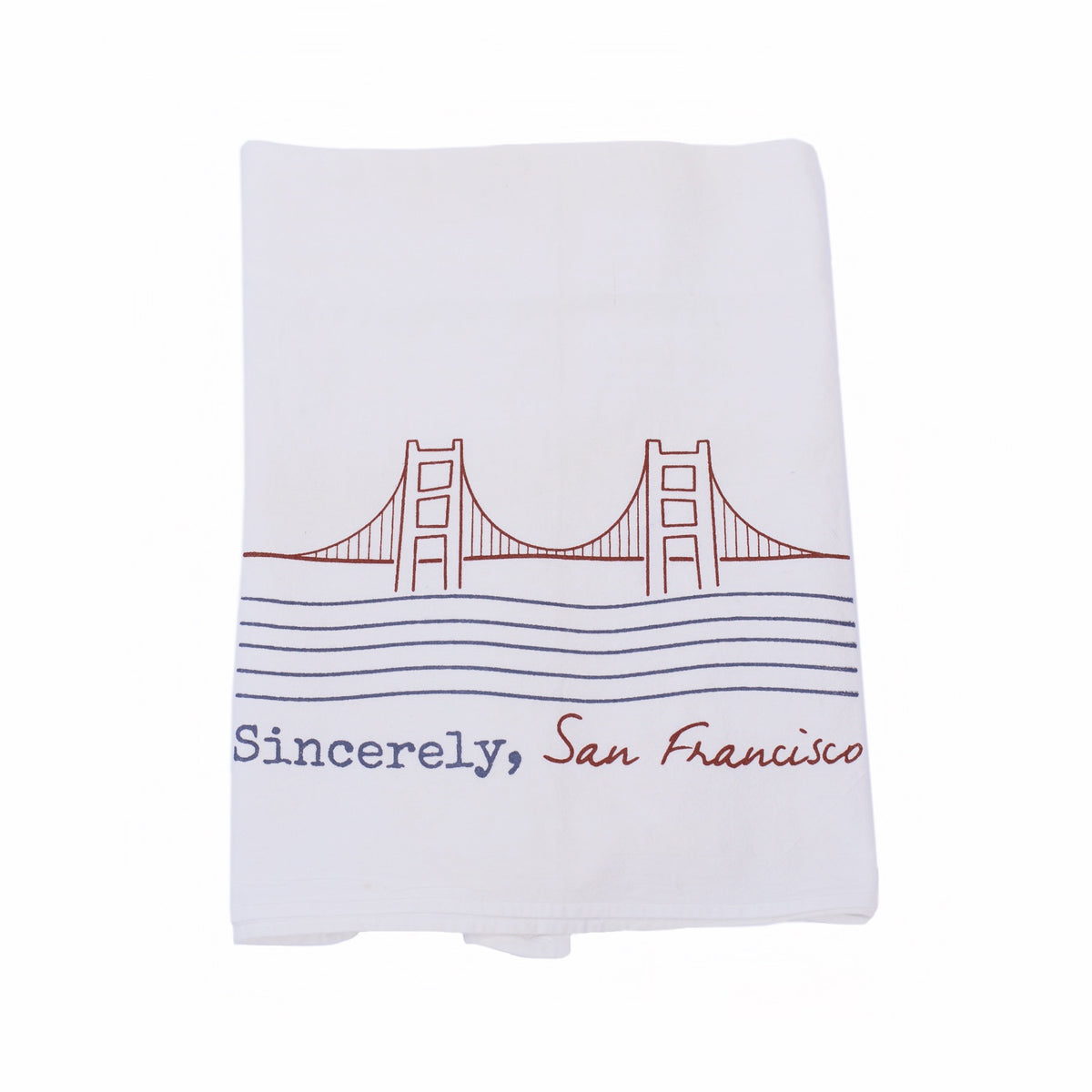 Sincerely, San Francisco Dish Towel