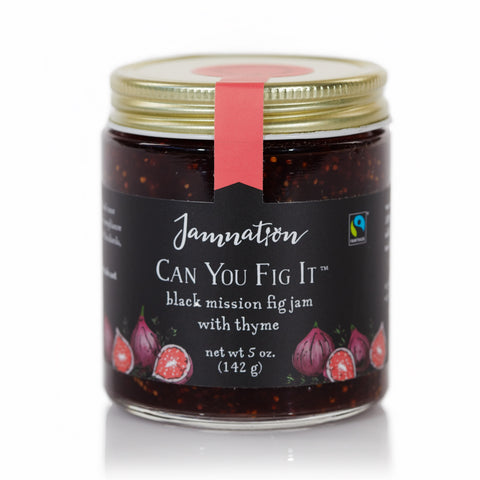 Jamnation, 'Can you Fig It' Black Mission Fig Jam with Thyme