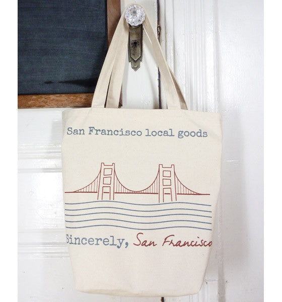 Sincerely, San Francisco Tote Bag