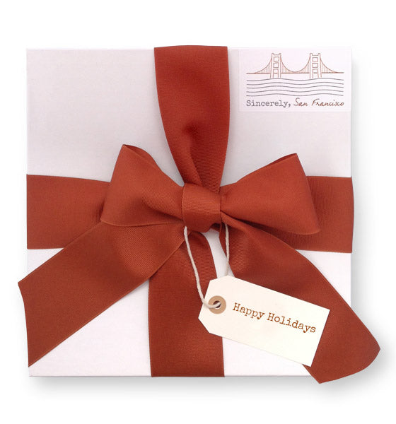 Happy Holidays Medium Gift Box