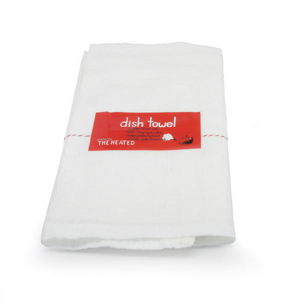 The Heated, Flour Sack Dish Towel, Bay Bridge
