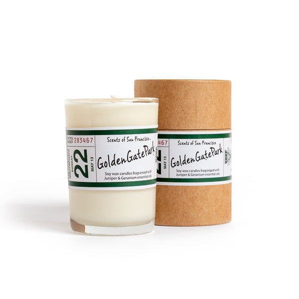 Scents of San Francisco, Golden Gate Park Large Candle