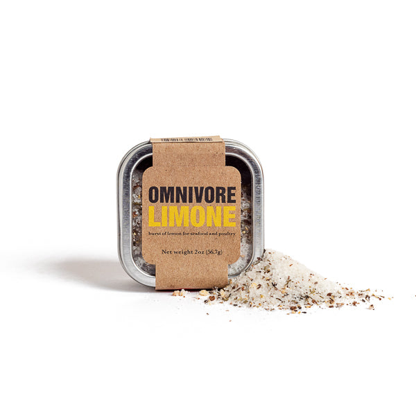 Omnivore by Angelo Garro, Limone Salt Blend 2oz Tin