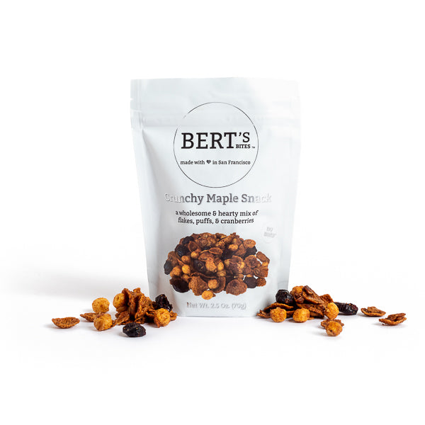 Bert's Bites, Crunchy Maple Snack