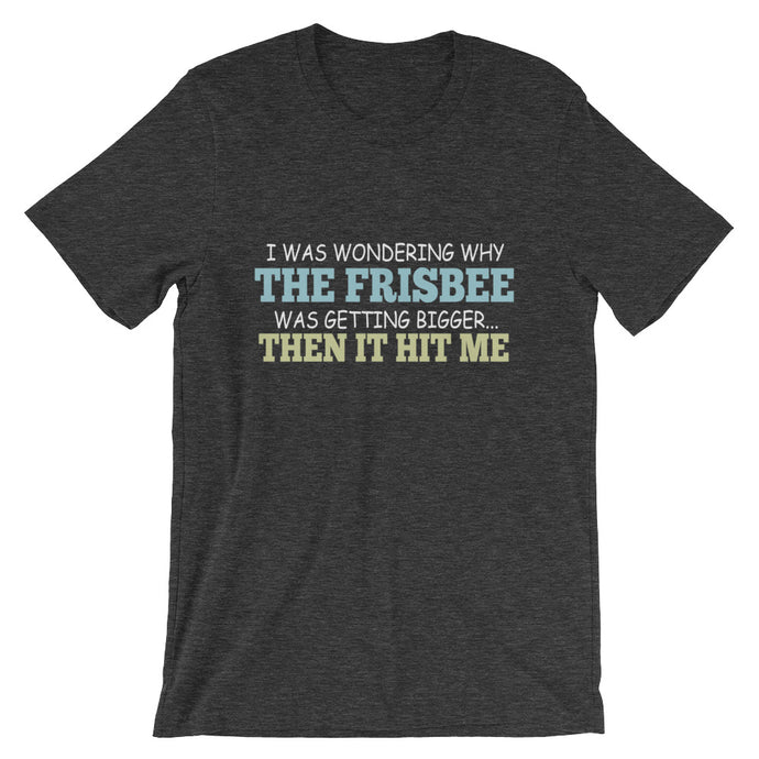 The Frisbee Then It Hit Me T-Shirt