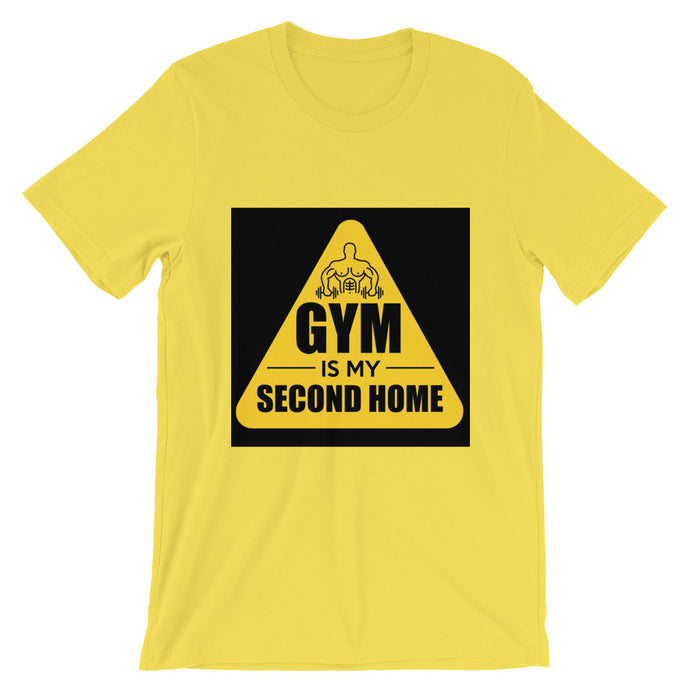 GYM Is My Second Home T-Shirt