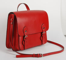 Load image into Gallery viewer, Clyde Tech Satchel | Red