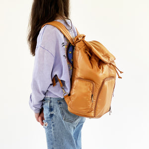 Cheeky Lime Backpack | Caramel