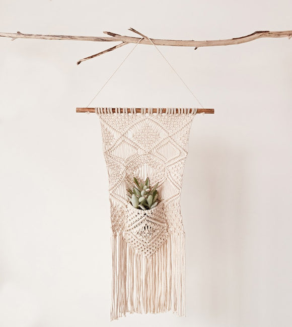 Macrame with Pocket