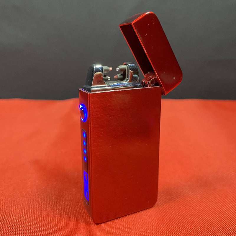 Rechargeable Double-Beam Electric Windproof Lighters