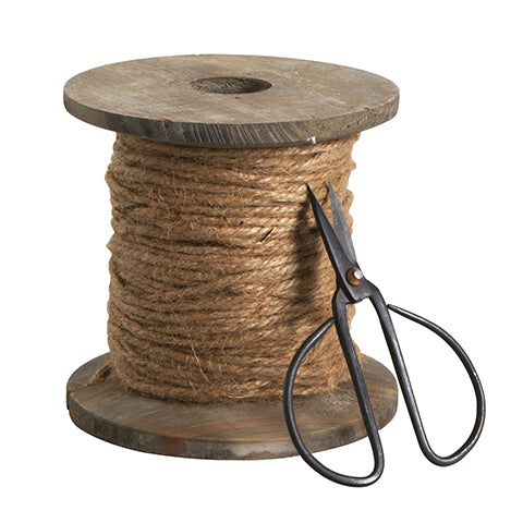 Decorative Scissor and Jute Roll