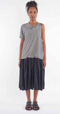 Rundholz SS19 1560907 Dress - small stripe