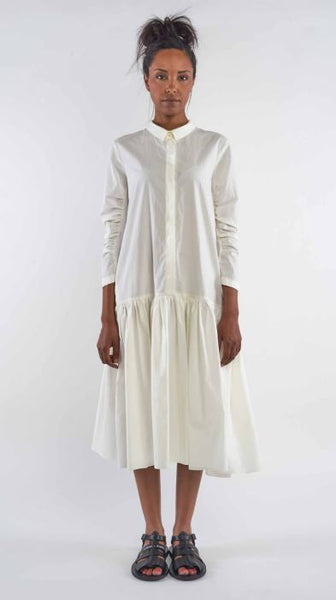Rundholz SS19 1340909 Dress - off white and also available in black
