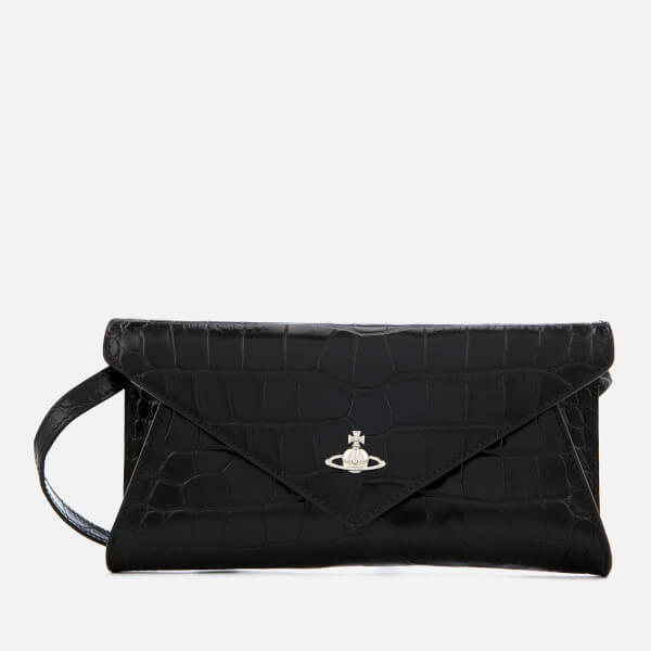 VIVIENNE WESTWOOD AW18 LISA ENVELOPE CLUTCH - Black