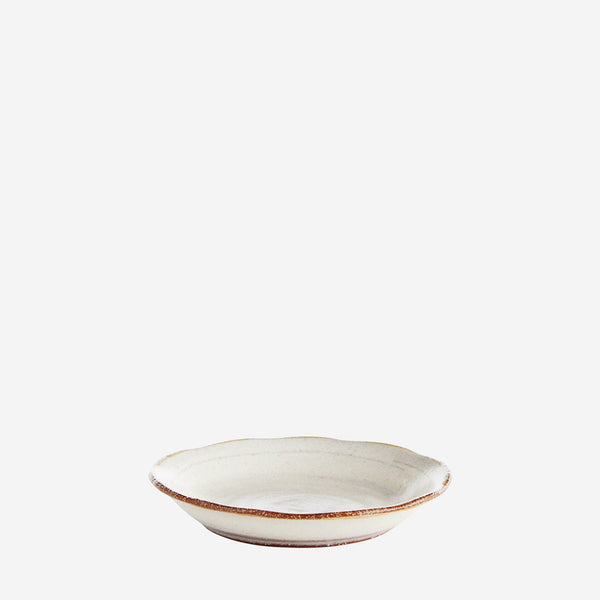 Stoneware Side Plate- Grey