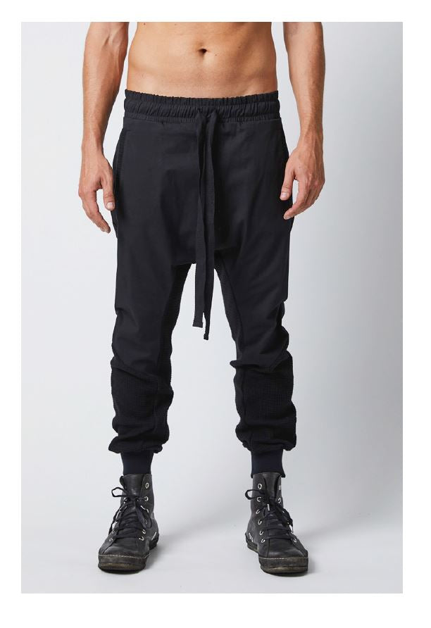 thom/krom SS19 MST120 Mens Trousers - Black