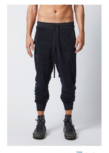 thom/krom SS19 S T 122 Mens Trousers black