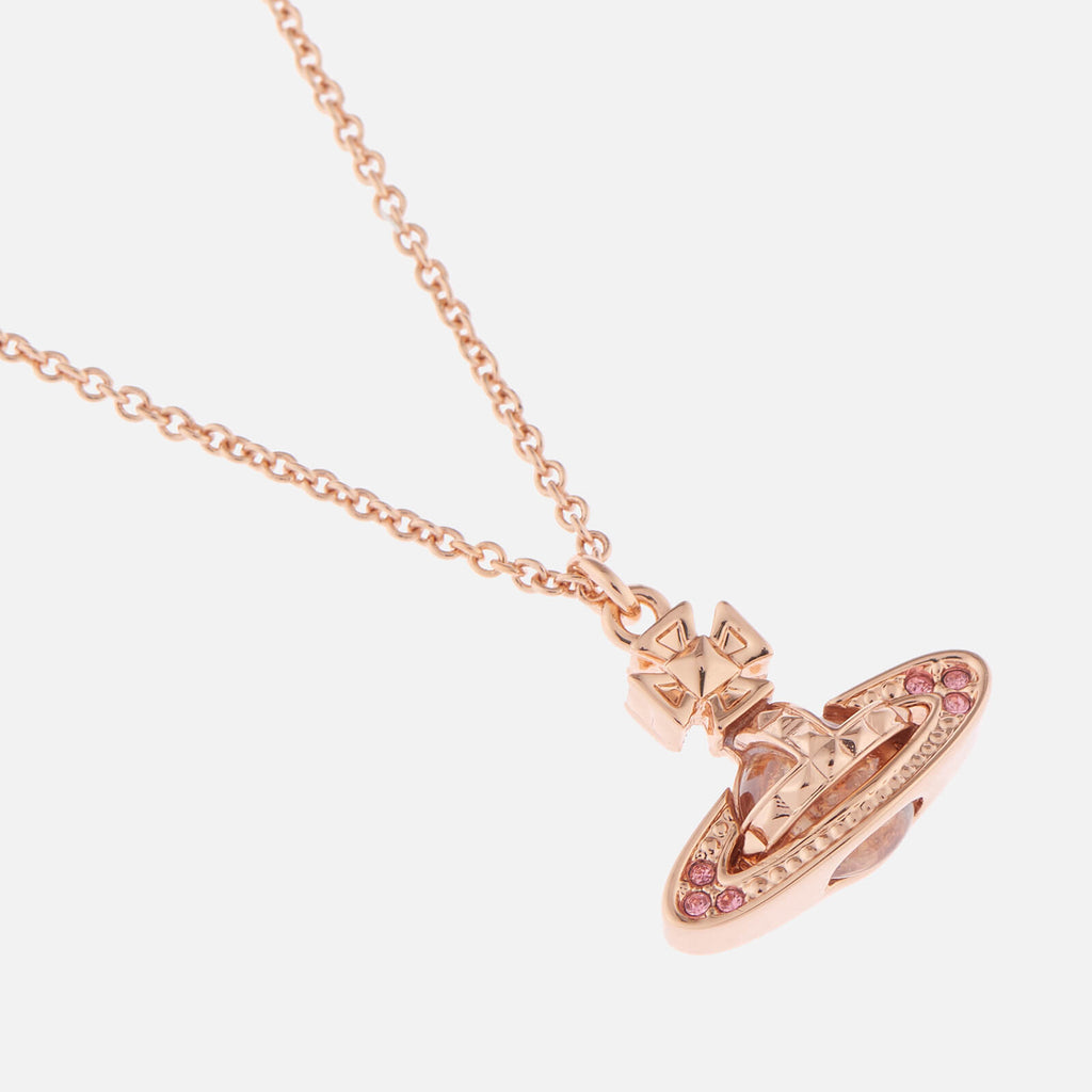 Vivienne Westwood Pina Small Bas Relief Pendant - Pink Gold