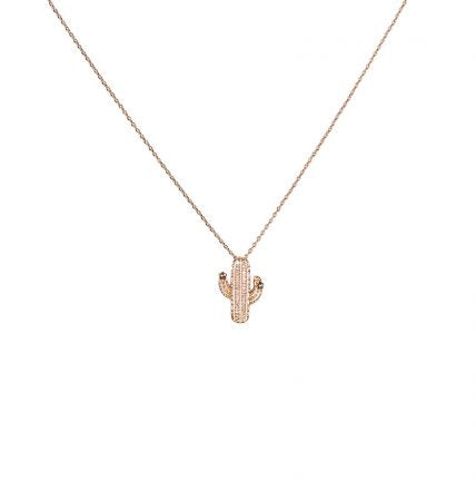 Lucia Tropical Luxe Cactus Delicate Necklace