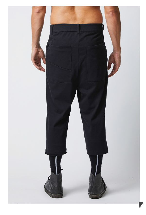 thom/krom SS19 MST130 Mens Trousers - Black