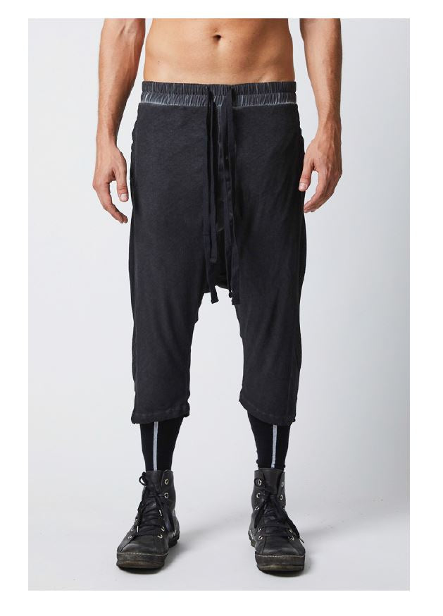 thom/krom SS19 MST135 Mens Trousers - Black oil