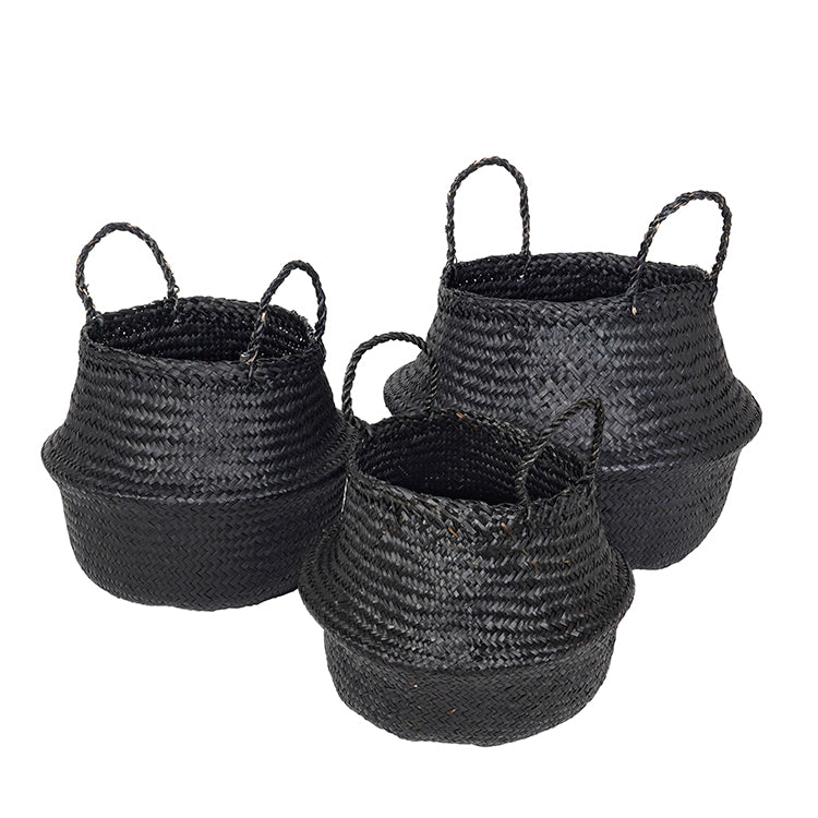 BASKET 'ILSE FOLD' SEA GRASS
