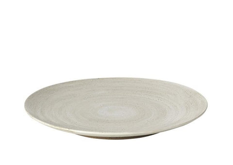 DINNER PLATE 'GRØD' STONEWARE set of 4