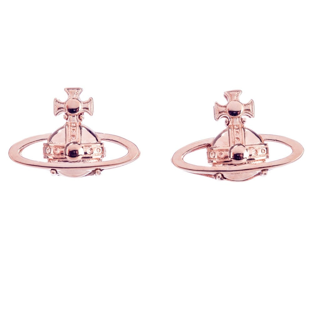 Vivienne Westwood Suzie Earrings -Pink Gold