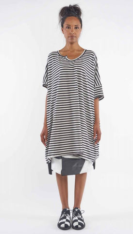Rundholz SS19 1560904 Dress - small stripe
