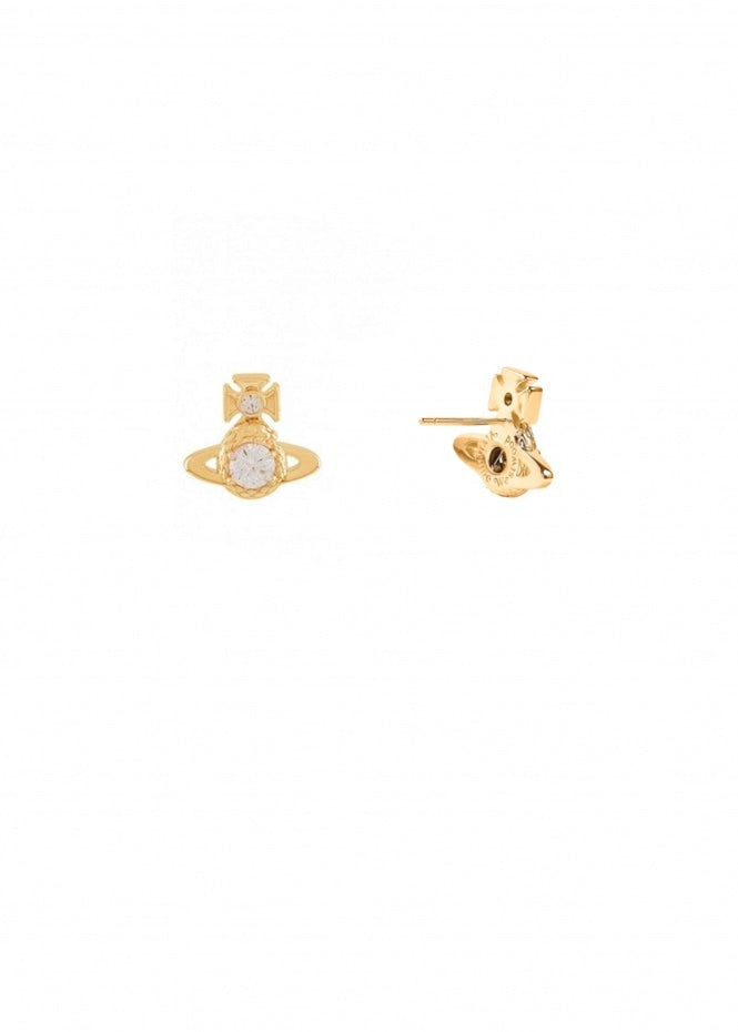 Vivienne Westwood Ouroboros Small Earrings - Gold
