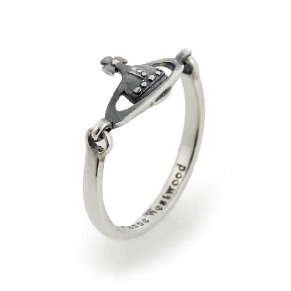 Vivienne Westwood Vendome Ring- Oxidized Silver