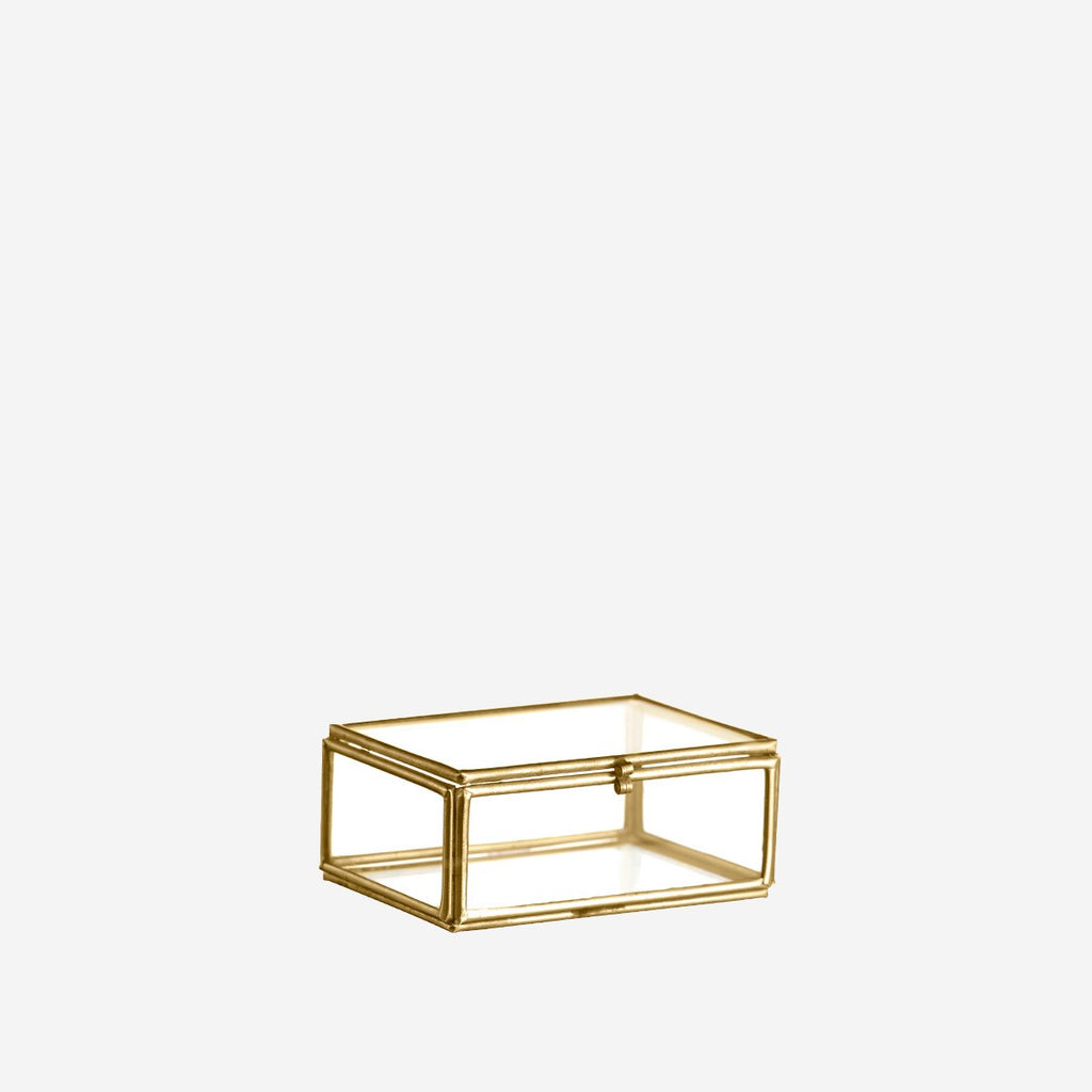 Glass Box - Brass