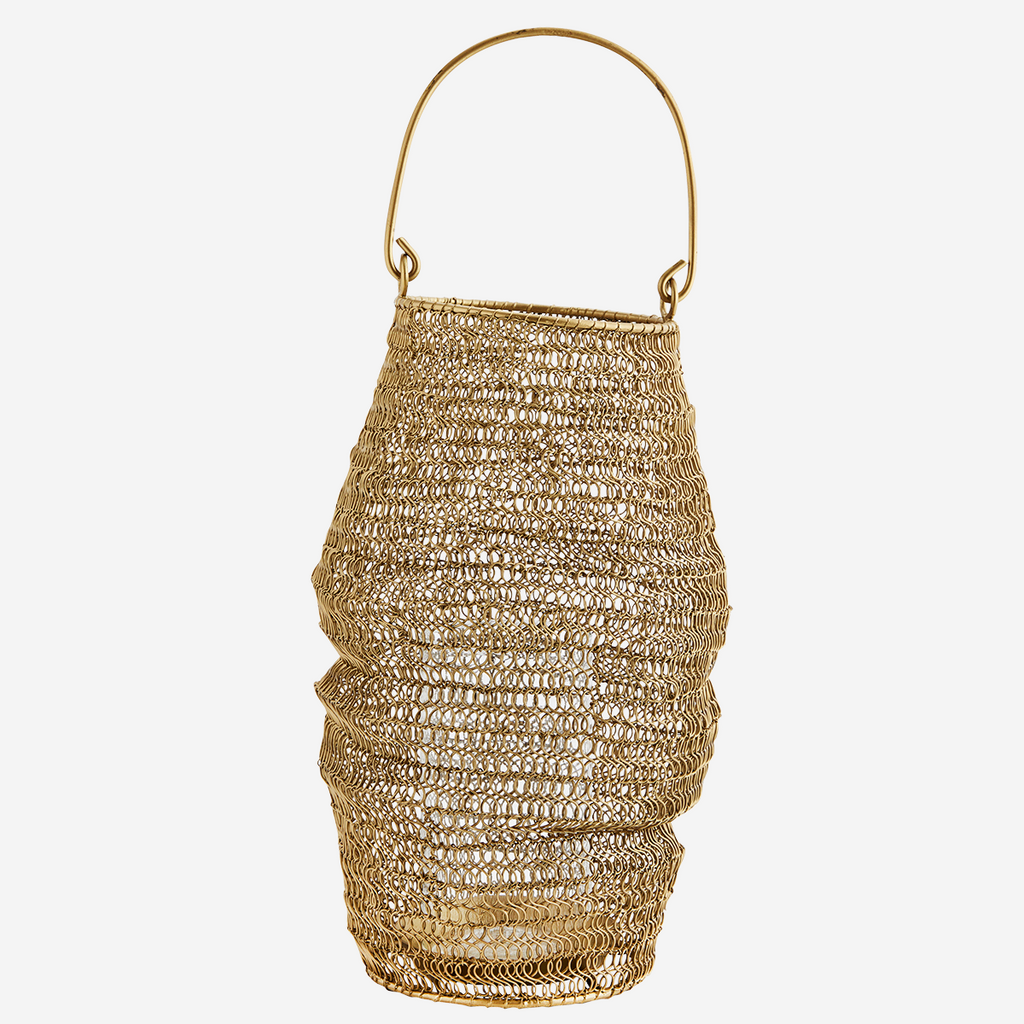KNITTED WIRE LANTERN