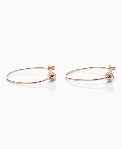 Vivienne Westwood Rosemary Earrings - pink gold