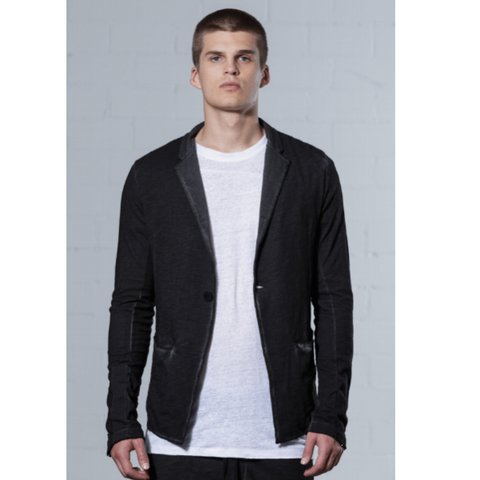 thom/krom MB 31 Jacket- Black Oil