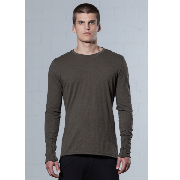 thom/krom MTS 345 Sweatshirt- Green