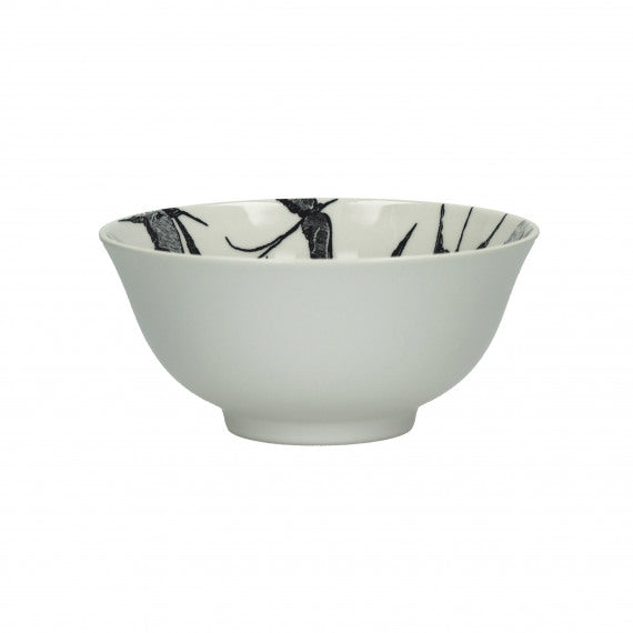 BOWL - PORCELAIN - 12X6 CM - WHITE