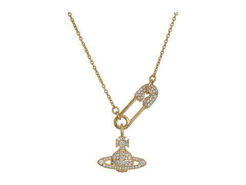 Vivienne Westwood Clotilde Small Necklace- Gold