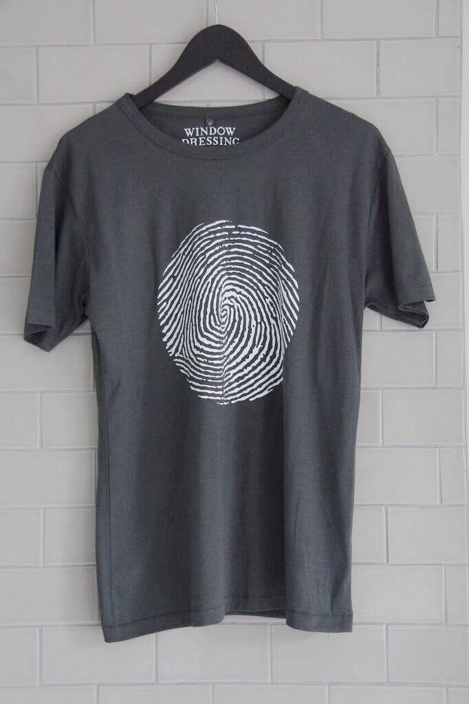 Window Dressing The Soul T Shirt- Thumb Print